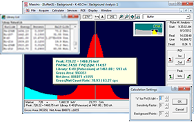 ORTEC MAESTRO Multichannel Analyzer (MCA) Emulation Software 5